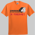 Uneek 4x4 T Shirt Orange