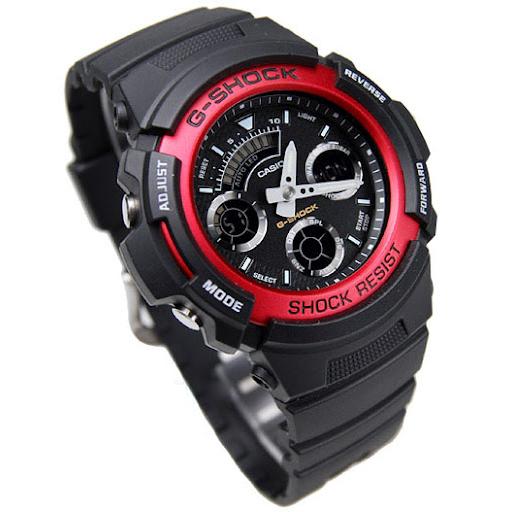 6c31a5dbd8fa ... Casio Men s AW-591-4A Casio G-Shock Ana-Digi Chronograph Sport Watch.  Image 1