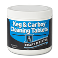 Craftmeister Keg & Carboy Cleaning Tablets, 30 ct