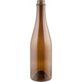 500ml Amber Champagne Bottles, Case of 12