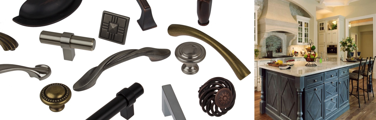 Cabinet Pulls & Knobs from GlideRite Hardware