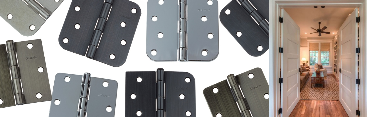 Door Hinges from GlideRite Hardware
