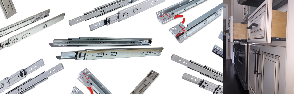 Drawer Slides from GlideRite Hardware