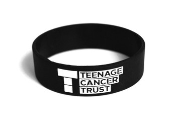 TEENAGE CANCER TRUST BLACK WRISTBAND