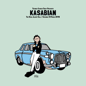 Kasabian X Pete McKee Event Print