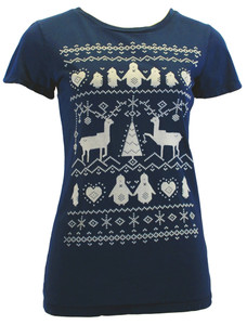It's Beginning to Look A Lot Like Christmas in Navy