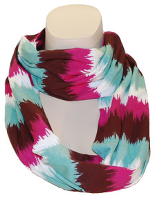 You'll be the life of the fiesta in this vibrant scarf!