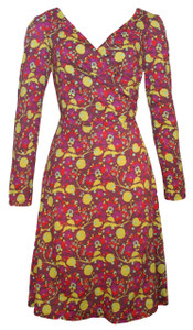 Garden Stroll Sleeved Dress in Vibrant Garden