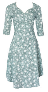 Sweetheart Dress in Sage, Rosemary & Thyme