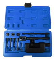 Motorcycle Cam Chain Breaker and Rivet Cutting Tool 13 Piece Set Blue