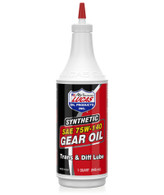 100% Synthetic Super slick, long lasting lubricant designed especially for heavy duty or high performance applications Contains a special additive package that increases lubricity and insures less gear noise and longer bearing life
