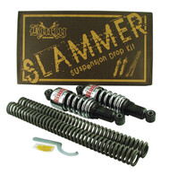 Slammer Suspension Fork Drop Kit for Harley Big Twin and Softail 2000/2009