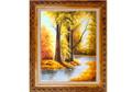 油画-晚秋