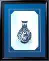 苏绣-青瓷龙瓶(白瓶)