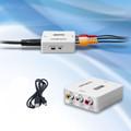 HDMI高清转普通AV视频转换器
