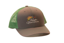 Feenstra Guide Service Trucker Hat in Gray/Green