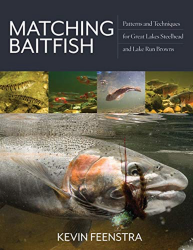 Coming Soon!   The long awaited book, Matching Baitfish, by Kevin Feenstra!