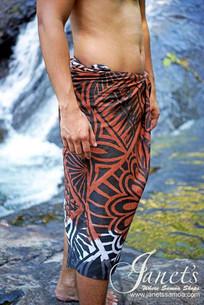Samoan Sarong/ Lava Lava T07