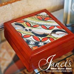 Samoan Tile Box CC30-3Hooks