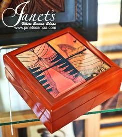 Samoan Tile Box CC30-Tatau
