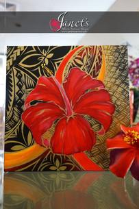 SAMOA HIBISCUS SERIES DKP101 – RED