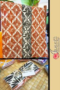2 X Pacific Tea Towels T103