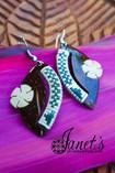 Janet's Samoa Original Coconut Earrings