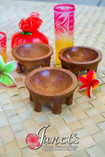 Janet's Samoa Mini Tanoas 3 inches, perfect for weddings and functions