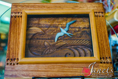 Framed Sea and Sky Motif BRF102