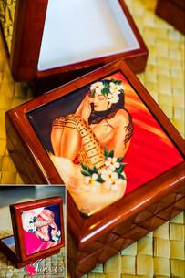Samoan Tile Box CC30-Pacific Maiden