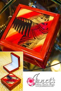 Samoan Tile Box CC30-Tattoo