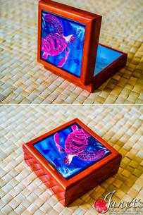 Samoan Tile Box CC30-Royal Turtle