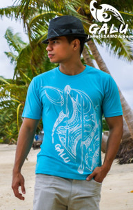 The Design pays tribute to the skill and ingenuity of our Pacific Islanders as the first Deep Blue Water Voyagers in the World. The Paddle is designed after the first Paddles of the Lapita people and the symbol of the Pacific people's harmony with the elements.