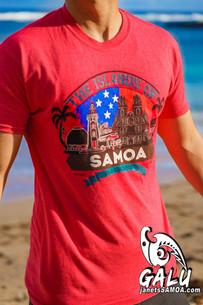 Galu T-Shirt - Islands of Samoa