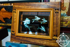 The Hunt – Framed Shell Carvings BRF93-2