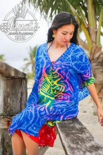 Samoan Beach Poncho TP01