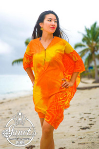 Samoan Beach Poncho TP06