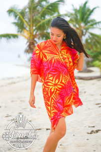 Samoan Beach Poncho TP07
