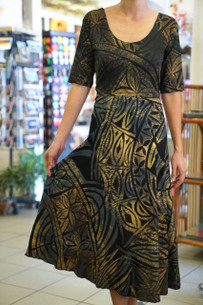 Janet's KALOLO DRESS GOLD
