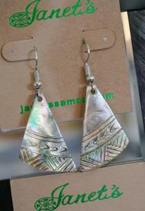 Pearl Shell Samoan Earring JIESC