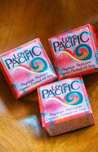 Love Pacific Papaya Passionfruit Soap Set of 3