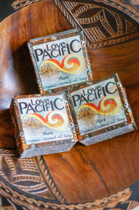Love Pacific Pure Coconut Soap Set of 3