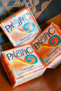 Love Pacific Pineapple Soap Set of 3