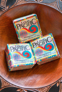 Love Pacific Frangipani Soap Set of 3