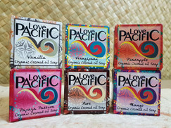 Love Pacific Organic Coconut Soap set of 6 LP317