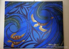 Blue Ocean Turtles DKP09