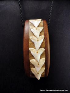 Pacific Wood Pendant BRPWD13