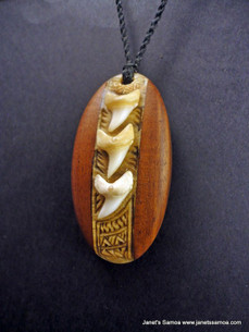 Pacific Wood Pendant BRPWD17