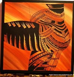 Samoan Tattoo DKP65