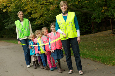 tag strap high vis safety strap for children